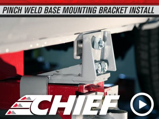 Chief 2015 Ford F150 Pinch Weld Clamp Install