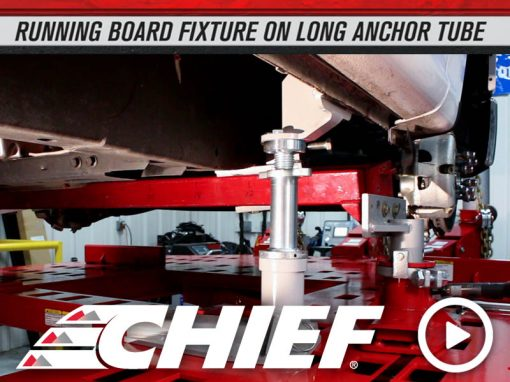 Chief 2015 Ford F150 Running Board Fixture on Long Tube