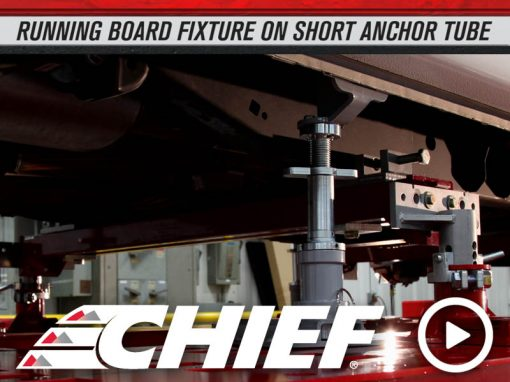 Chief 2015 Ford F150 Running Board Fixture on Short Tube