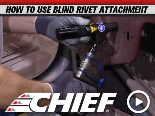 BLIND RIVET ATTACHMENT