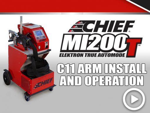 MI200T Training: C11 Arm Setup & Operation